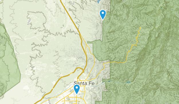 Santa Fe River State Park Map