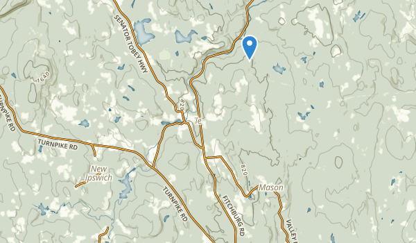 Marshall State Forest Map