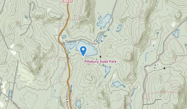 Pillsbury State Forest Map