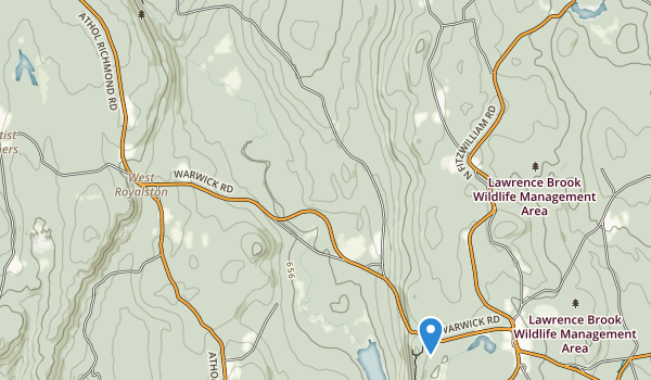 Royalston State Forest Map
