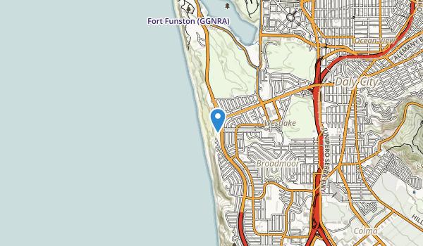 Thornton State Beach Map