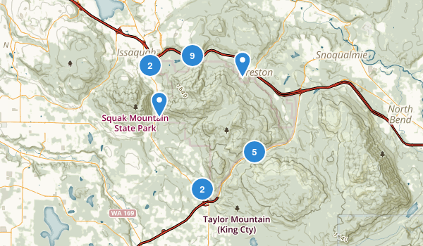 Tiger Mountain State Forest Map