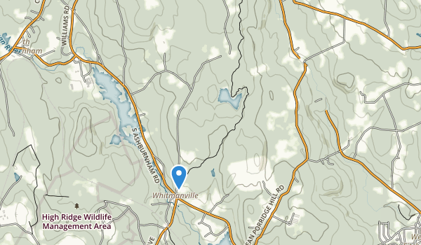 Westminister State Forest Map