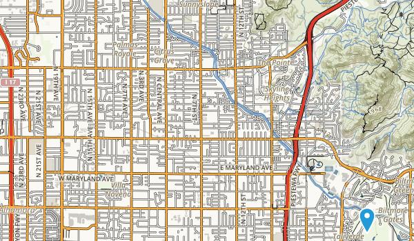 Alicia Park Map