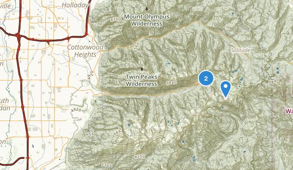 Alta Canyon Park Map