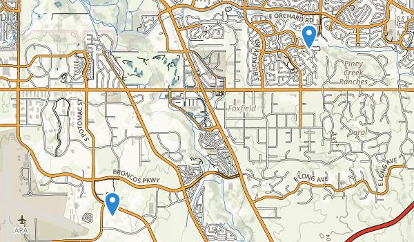 Arapahoe County Regional Park Map