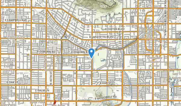 Arcadia Park Map