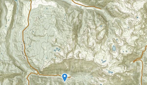 trail locations for Bear Creek Field