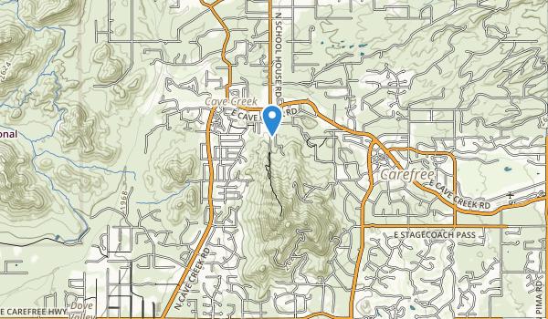Black Mountain Summit Park Map