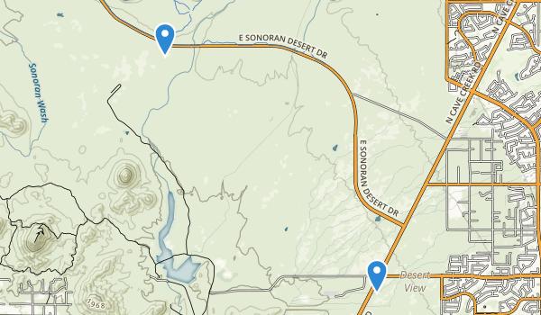 Cave Buttes Rec Area Map