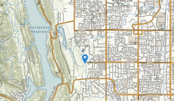 Cottonwood Glen Park Map