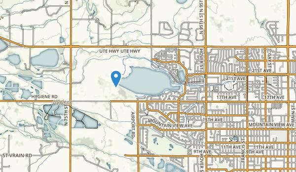 trail locations for Dawson Park
