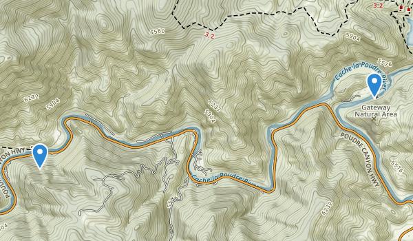 Gateway Mountain Park Map