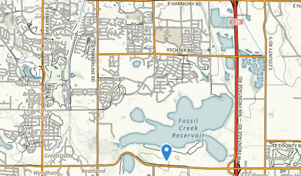 trail locations for Harmony Park