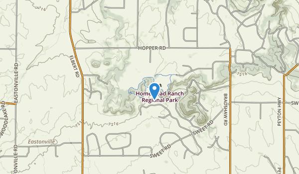 Homestead Ranch Park Map