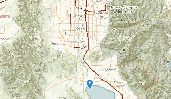 trail locations for Jordan River Parkway