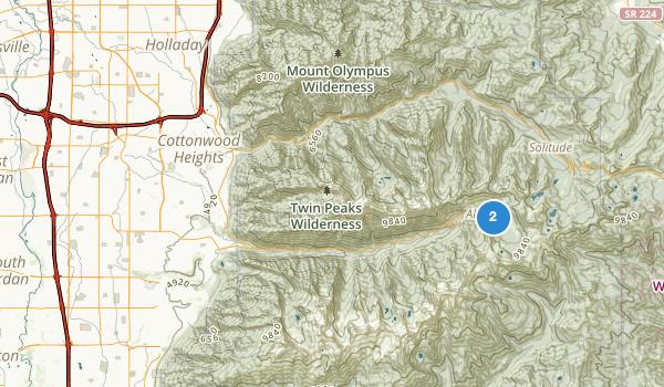 Little Cottonwood Park Map