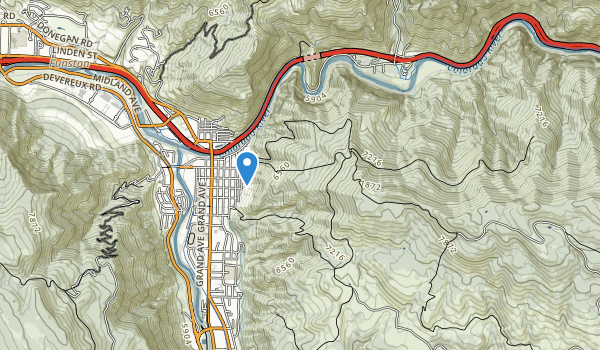Lookout Mountain Park Map