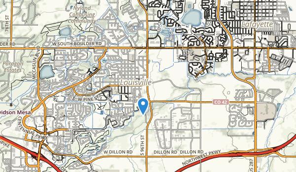 trail locations for Lousiville Sports Complex