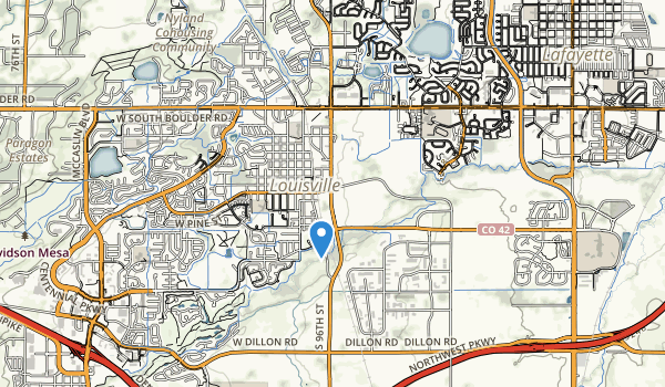 Lousiville Sports Complex Map