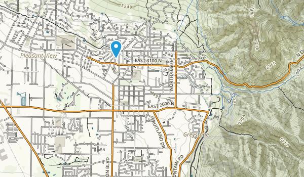 Oak Lawn Park Map
