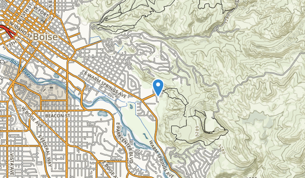 trail locations for Quarry View Park