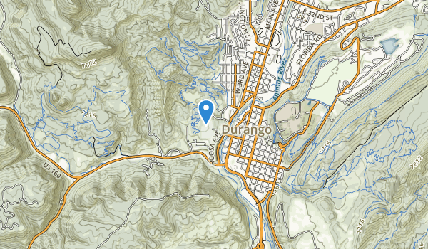 trail locations for Schneider Park