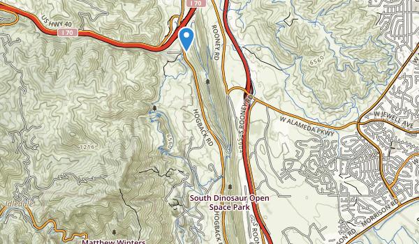 South Dinosaur Park Map