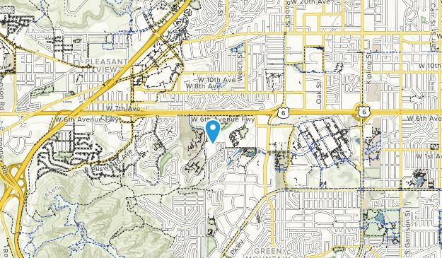 Union Ridge Park Map