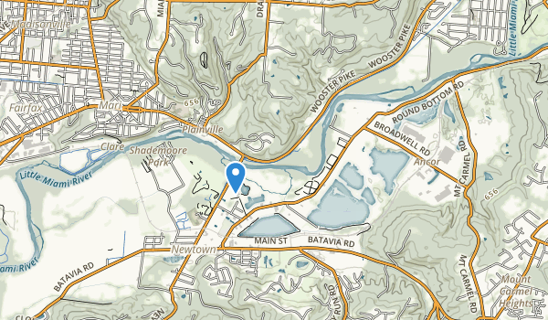 trail locations for Avoca Park