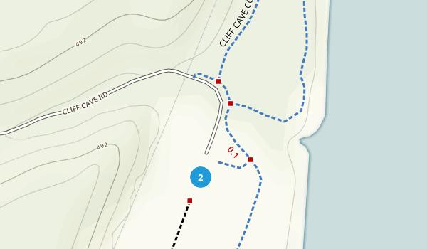 Cliff Cave Park Map
