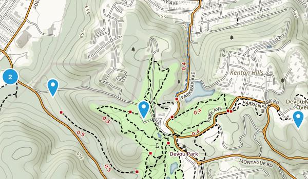 Devou Park Map