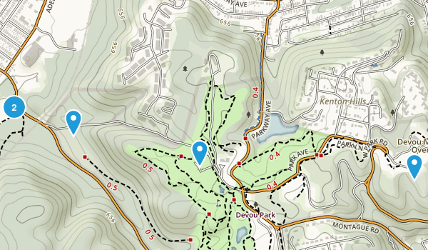 Devou Park Map