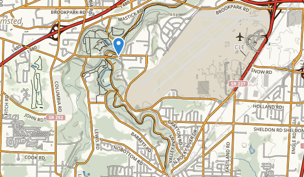 trail locations for Dora Lee Payne Park
