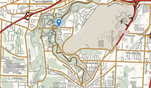 Dora Lee Payne Park Map