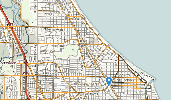 trail locations for Dwyer Park