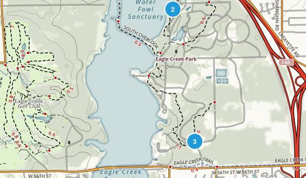Eagle Creek Park Map