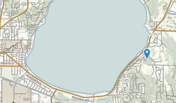 trail locations for East Bay Park