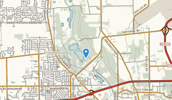 trail locations for Englewood Reserve