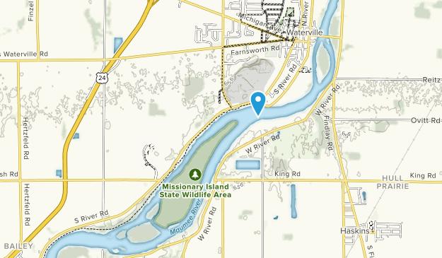 Farnsworth Park Map