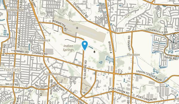 Gilmore Ponds Preserve Map