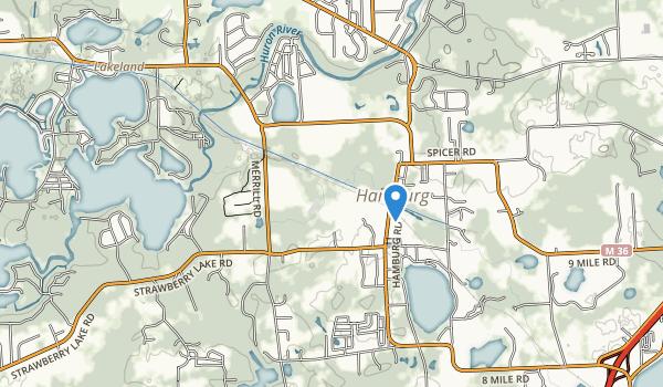 Hamburg Township Park Map