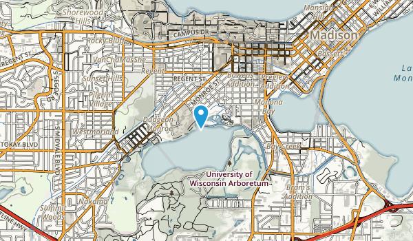 Henry Vilas Park Map