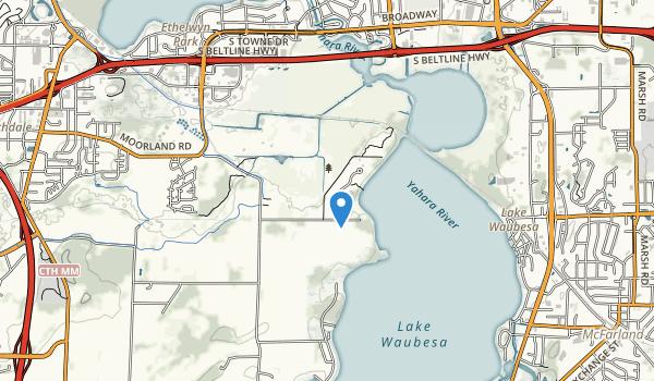 Lake Farm County Park Map