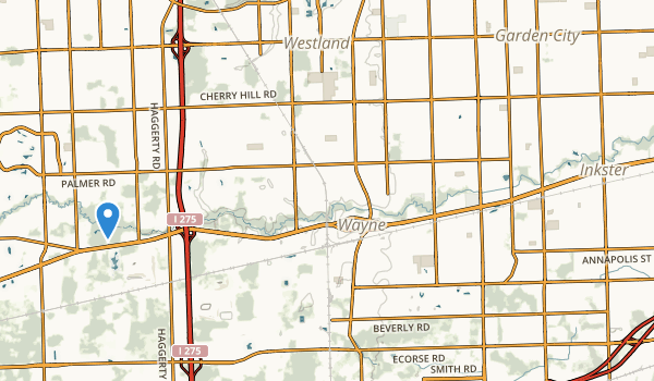 Lower Rouge Parkway Map