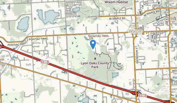 Lyon Oaks Park Map