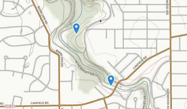 Mill Creek Park Map