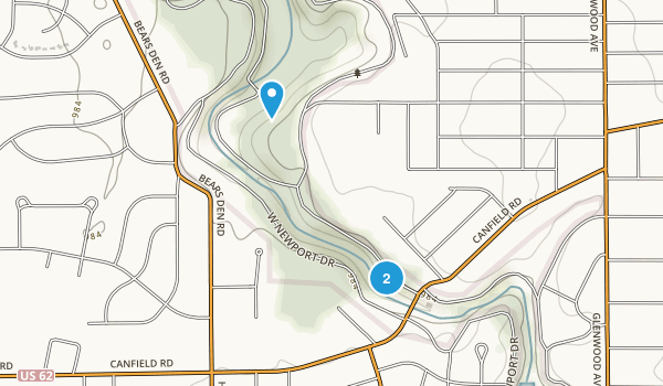 Mill Creek Park Map