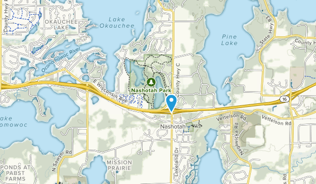 Nashotah Park Map