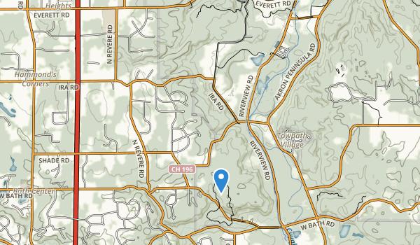 Oneil Woods Park Map
